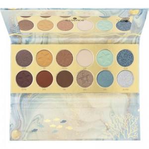 essence - Lidschattenpalette - Tansation - Make A Wish, Little Fish Eyeshadow Palette Nude & Blue