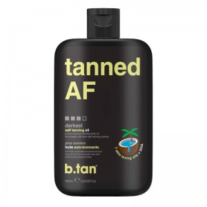 b.tan - Tanning Oil - tanned AF - tanning / body oil