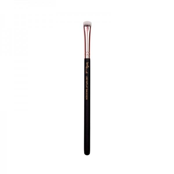 lenibrush - Kosmetikpinsel - Flat Smudger - LBE16 - Matte Black Edition