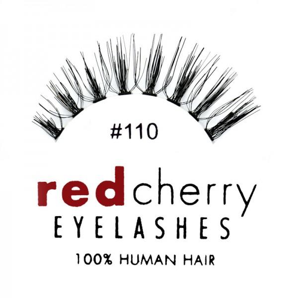 Red Cherry - False Eyelashes No. 110 Molla - Human Hair