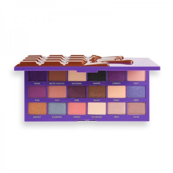 I Heart Revolution - Fruit And Nut Chocolate Palette