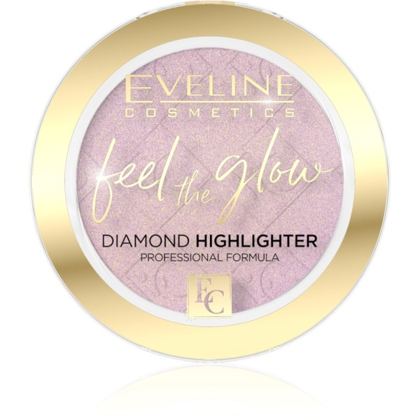 Eveline Cosmetics - Highlighter - Feel The Glow Highlighter - 03 Rose Gold