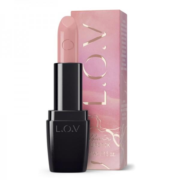 L.O.V - Lippenstift - Coral Collection - LIPAFFAIR sheer lipstick 120 - rose
