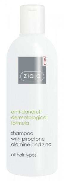Ziaja Med - Anti dandruff shampoo - Anti-Dundruff Shampoo with Piroctone Olamine And Zinc