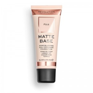 Revolution - Foundation - Matte Base Foundation - F0.5