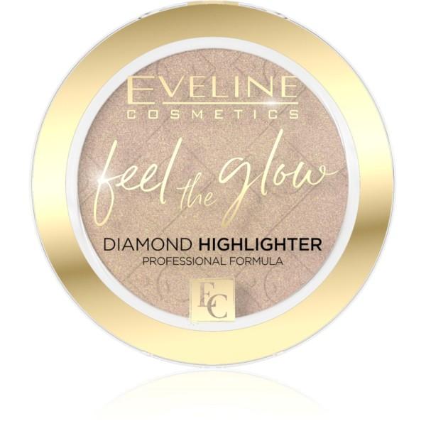 Eveline Cosmetics - Highlighter - Feel The Glow Highlighter - 02 Beach Glow