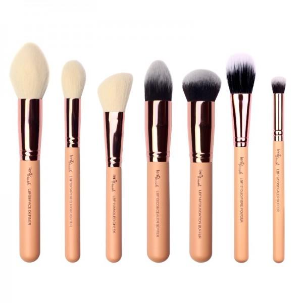 lenibrush - Kosmetikpinselset - Flawless Face Set - The Nudes Edition