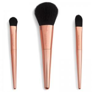 Revolution - Kosmetikpinselset - Reloaded Rose Gold Travel Brush Set