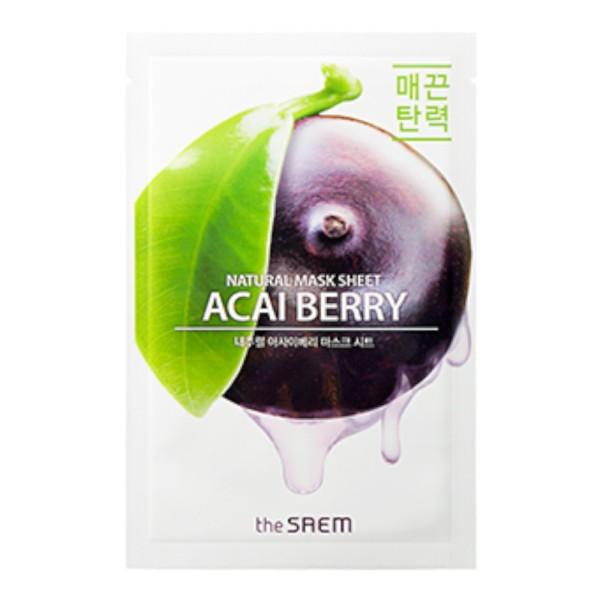 the SAEM - Gesichtsmaske - Natural Mask Sheet - Acai Berry
