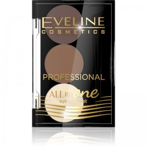 Eveline Cosmetics - All In One Eyebrow Set - 02