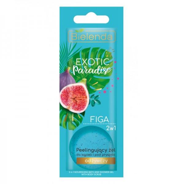 Bielenda - Duschgel - Exotic Paradise 2In1 Peeling Bath And Shower Gel Nourishing Fig