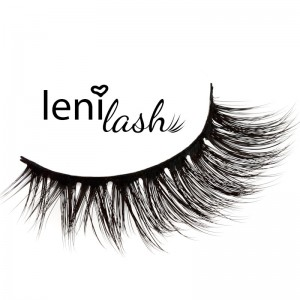 lenilash - 3D-False Eyelashes - Schwarz - Grace