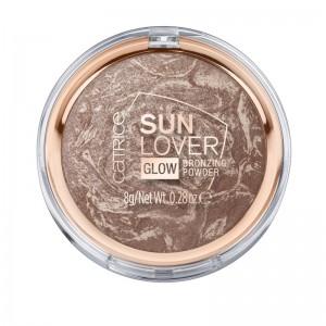 Catrice - Bronzer - Sun Lover Glow Bronzing Powder - Sun-kissed Bronze