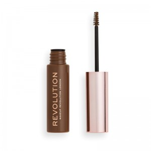 Revolution - Augenbrauengel - Brow Gel Ash Brown