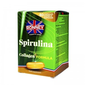 Ronney Professional - Nahrungsergänzungsmittel - Food Supplement Spirulina Collagen+ Formula 60 caps
