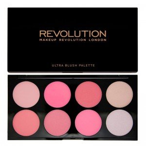 Makeup Revolution - Blush Palette - All about Pink