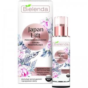 Bielenda - Serum - Japan Lift Regenerating Antiwrinkle Face Serum Day/Night