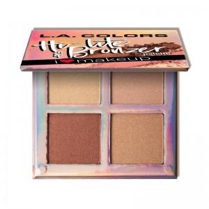 LA Colors - Highlighterpalette - Hi-Lite & Bronzer - Radiance