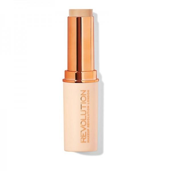 Makeup Revolution - Fast Base Stick Foundation - F4