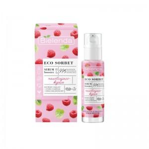 Bielenda - Serum - Eco Sorbet - Raspberry - Serum Booster - Moisturizing + Soothing - 30 ml