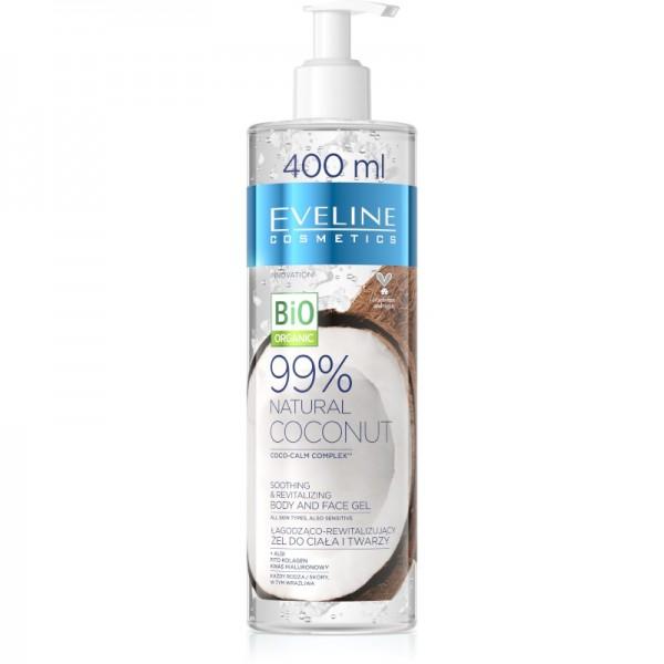 Eveline Cosmetics - Gesichts- & Körpergel - Bio Organic - 99% Natural Mango Body & Face Gel - 400ml