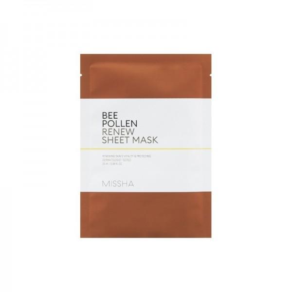 Missha - Gesichtsmaske - Bee Pollen Renew Sheet Mask