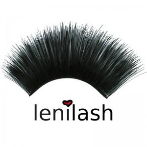 lenilash - False Lashes - Black - Nr. 110 - Human Hair