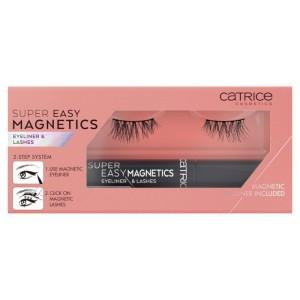 Catrice - Ciglia Finte & Eyeliner liquido - Super Easy Magnetics Eyeliner & Lashes - 010 Magical Volume