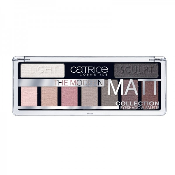 Catrice - The Modern Matt Collection Eyeshadow Palette 010