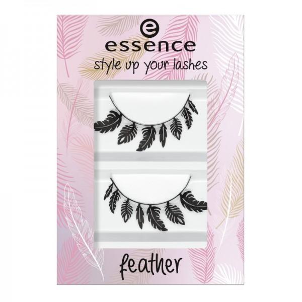 essence - False Eyelashes - style up your lashes - 02 feather