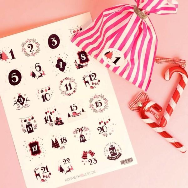 lenibeauty - DIY Adventskalenderset 1 - DIY Advent Calendar Set