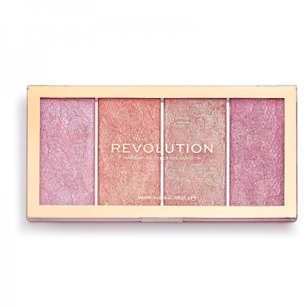 Revolution - Rougepalette - Vintage Lace Blush Palette