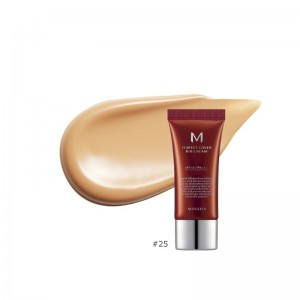 MISSHA - BB Cream - M Perfect Cover BB Cream - SPF42 - No.25/WarmBeige - 20ml