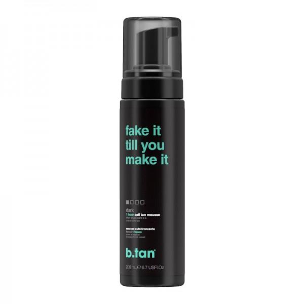 b.tan - Self Tan - fake it till you make it - 1 hour self tan mousse - dark