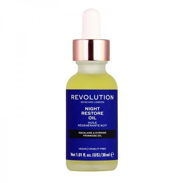 Revolution - Gesichtsöl - Skincare Night Restore Oil