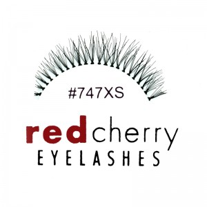 Red Cherry - False Eyelashes Nr. 747XS Branson - Human Hair