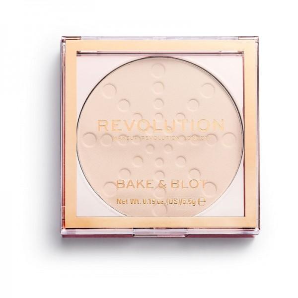 Revolution - Puder - Bake & Blot - Translucent