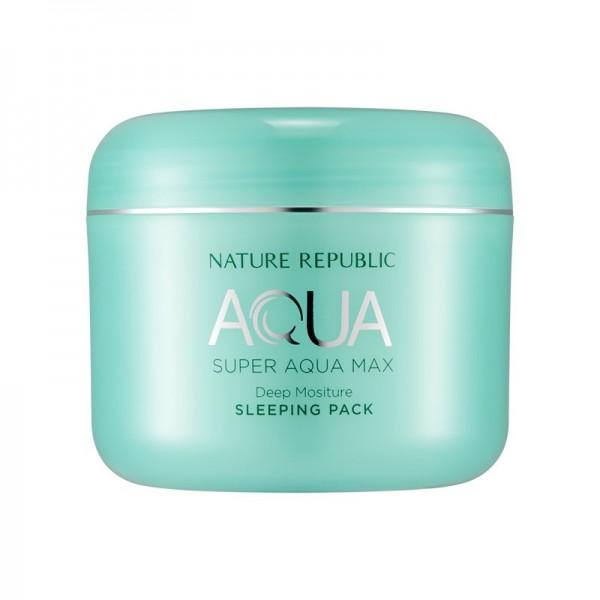 Nature Republic - Gesichtsmaske - Super Aqua Max Deep Moisture Sleeping Pack