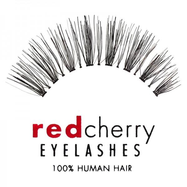 Red Cherry - False Eyelashes - Nr. 415 Ivy - Human Hair