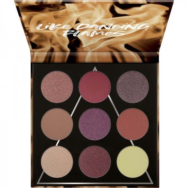 essence - Lidschattenpalette - online exclusives - FIRE eyeshadow palette 01 like dancing flames