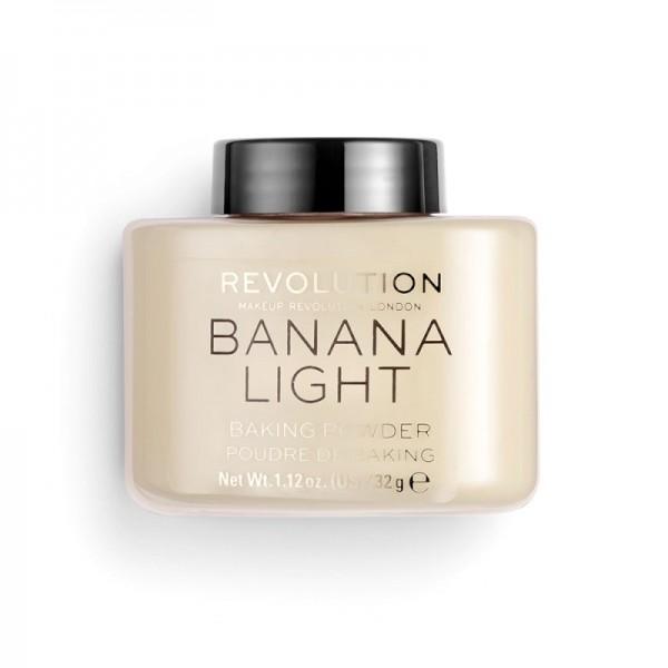 Revolution - Puder - Loose Baking Powder - Banana Light