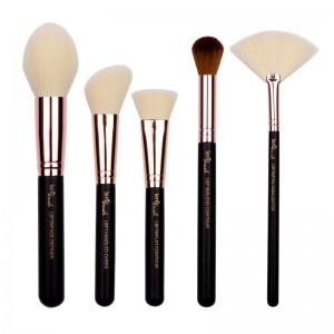 lenibrush - Face Definition Set - Matte Black Edition
