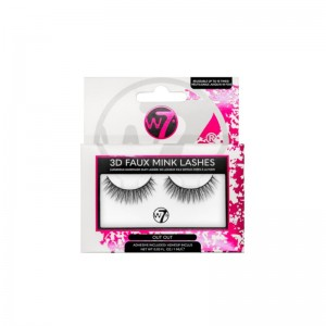 W7 - Falsche Wimpern - 3D Faux Mink Lashes - Out Out