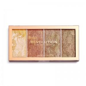 Revolution - Highlighterpalette - Vintage Lace Highlighter Palette