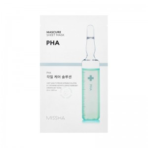 MISSHA - Gesichtsmaske - Mascure Peeling Solution Sheet Mask - Pha