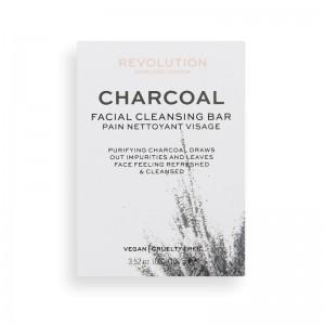 Revolution - Gesichtsreinigungsschaum am Stück - Charcoal Facial Cleansing Bar