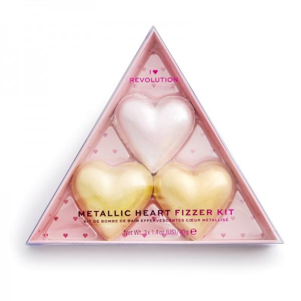 I Heart Revolution - Metallic Heart Fizzer Kit