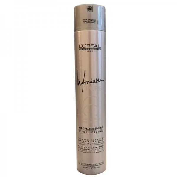 Loreal Professionnel - Infinium Pure Strong Hairspray - 500ml