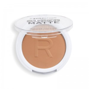 Revolution - Puder - Super Matte Pressed Powder - Tan