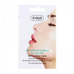 Ziaja - microbiome balance face mask - for oily skin